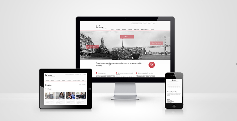 Site internet Le Stanc Avocats